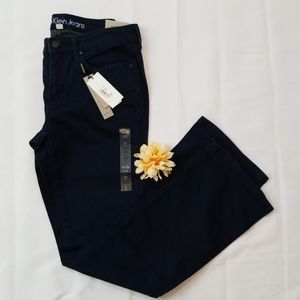 Calvin Klein Curvy Boot Navy Blue Jean